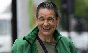 Antton Troitiño, en Londres tras comparecer ante el tribunal en 2014.