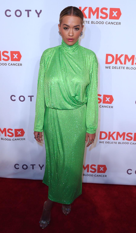 Rita Ora, en la gala DKSM Big Love en Nueva York