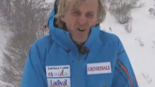 Jesús Calleja, en el programa 'Desafío extremo'.