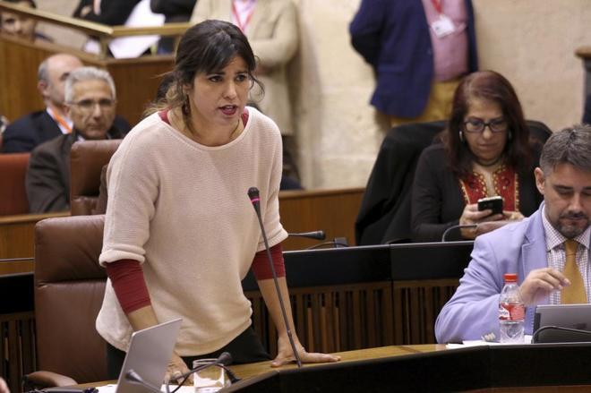 Teresa rodr guez cree que la corrupci n en andaluc a est repartida como la loter a - Casos de corrupcion de podemos ...