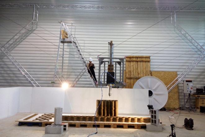 Un robot impresi n 3d y drones la construcci n del for Impresion 3d construccion