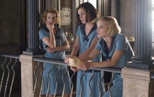 Maggie Civantos, Nadia de Santiago y Ana Fernández, en 'Las chicas...