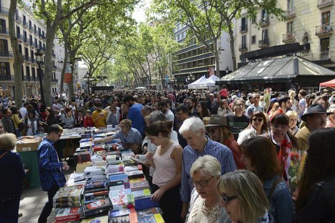 Diada literaria de Sant Jordi.