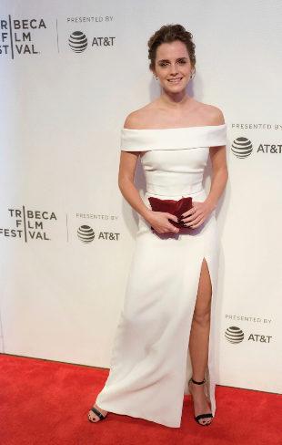 Emma Watson en el Tribeca Film Festival