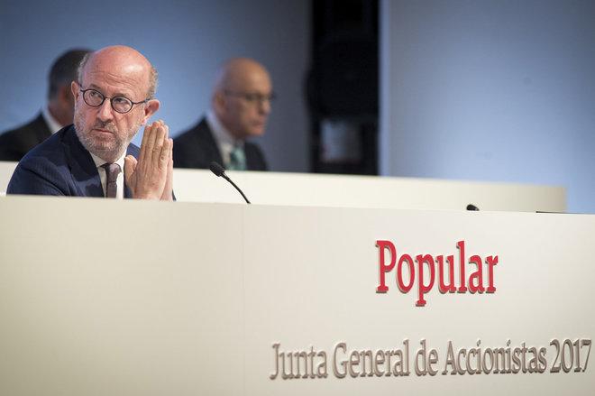 El presidente de Banco Popular, Emilio Saracho.