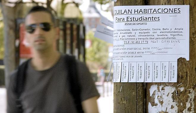 El precio medio del alquiler de una habitaci n en madrid y - Alquiler de una habitacion en madrid ...
