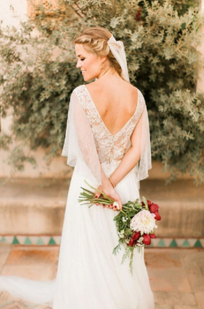 Vestidos de novia para mujeres bajitas y caderonas