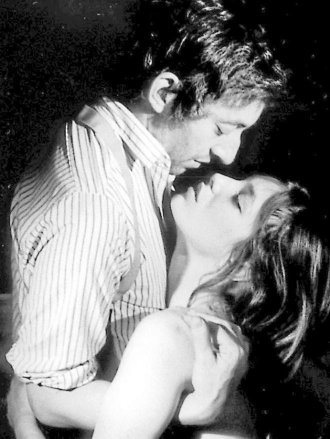 Jane Birkin y Serge Gainsbourg, intérpretes de la canción 'Je...