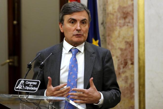 El portavoz económico del PSOE en el Congreso, Pedro Saura.