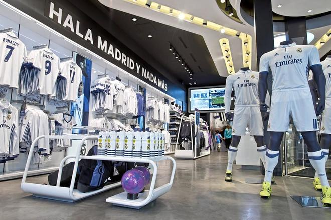 Madrid's soccer team's merchandise