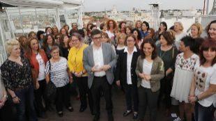 Patxi López, en un acto celebrado hoy en Madrid.
