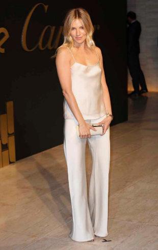 Sienna Miller en la fiesta de Cartier