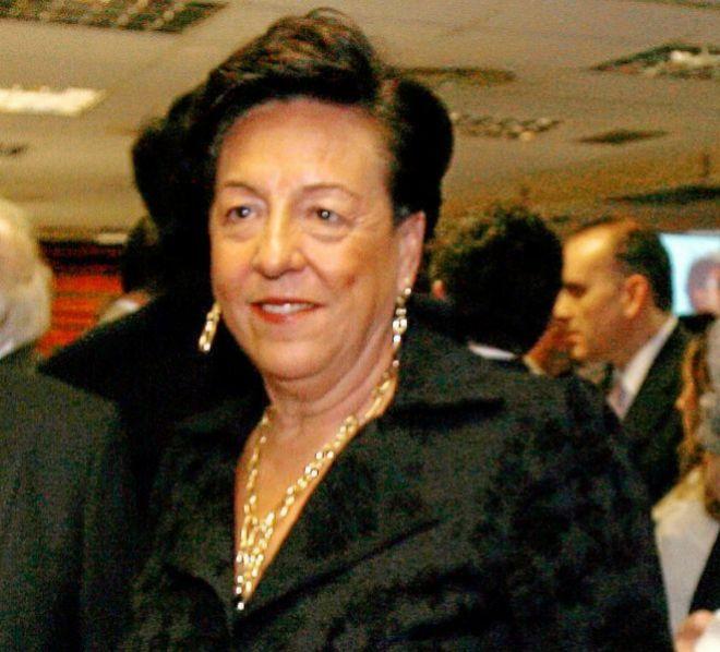 La matriarca del clan María del carmen Martínez.