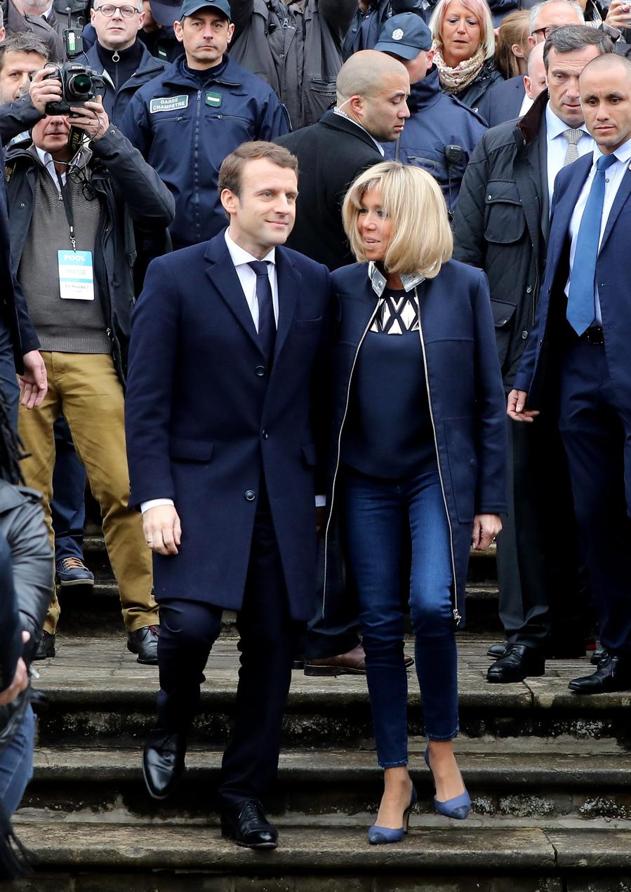 El estilo de Brigitte Macron