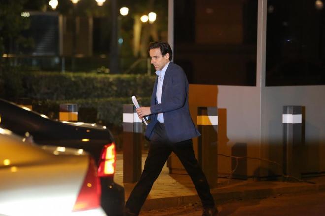 Javier López Madrid abandona la Audiencia Nacional al quedar en...