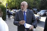 José Manuel Maza, fiscal general del Estado, ayer, en un acto en...