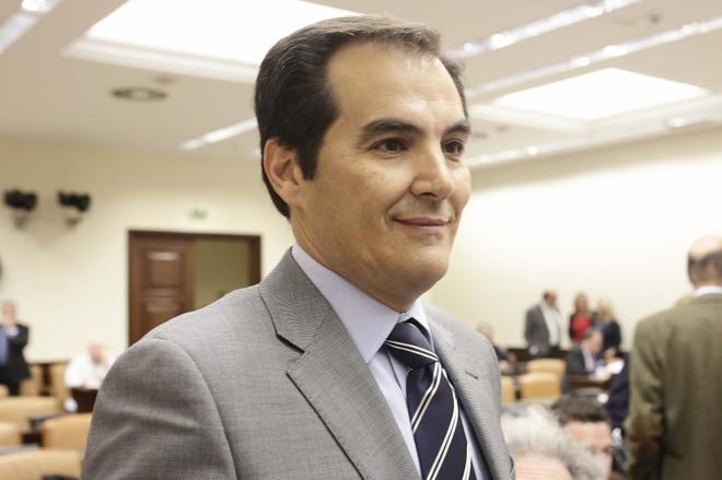 José Antonio Nieto, en la Comisión de Interior de Congreso.