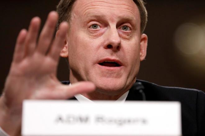 El director de la NSA, almirante Michael Rogers.