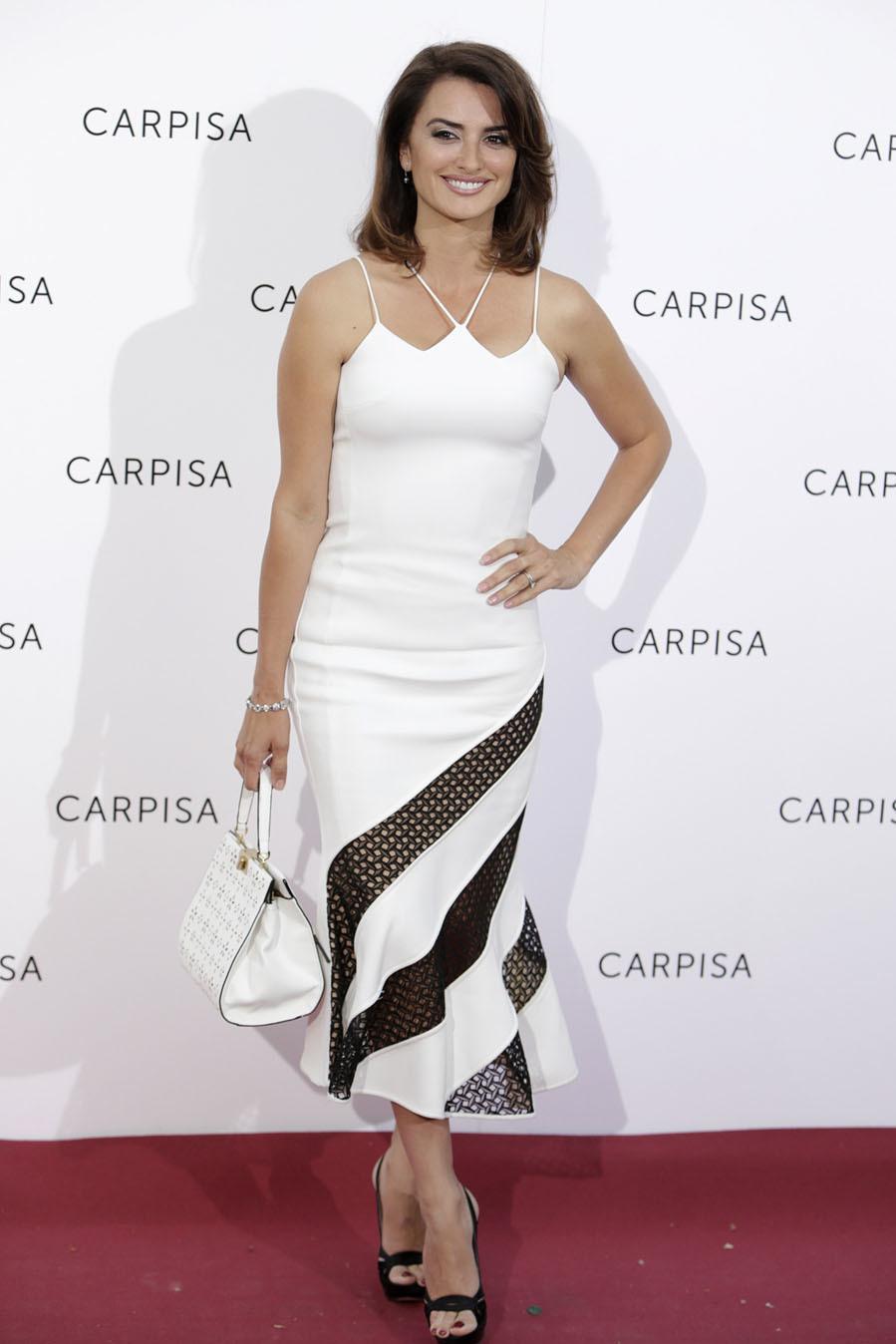 Penélope Cruz apostó, como embajadora de Carpisa, por un vestido muy...