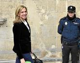La Infanta Cristina llegando a declarar a los juzgados de Palma de...