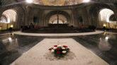Sepultura de Francisco Franco en la basílica del Valle de los...