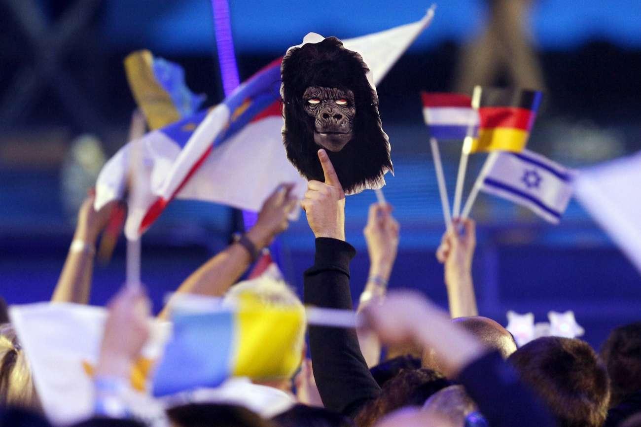 Eurovisión arrancaban con Portugal y el mono italiano como grandes...