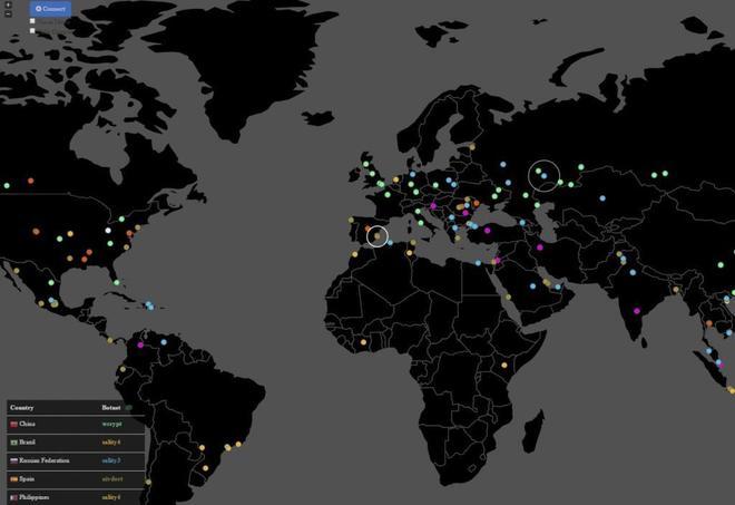 Mapa de los países afectados por el ciberataque masivo del virus...