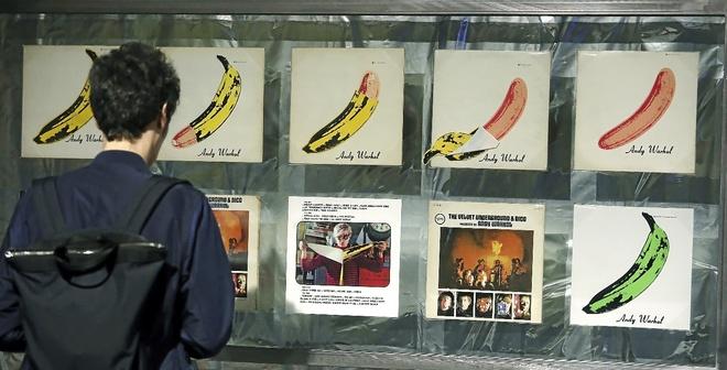 La mítica portada que Warhol diseñó para el primer disco de la Velvet Underground.