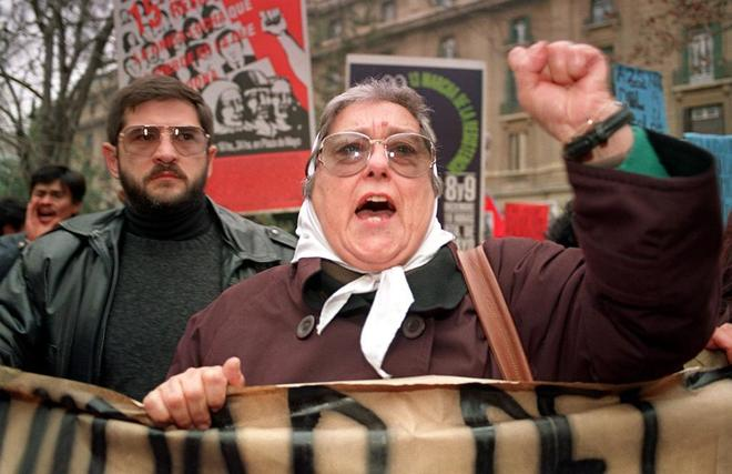 Hebe de Bonafini, presidenta de Madres de la Plaza de Mayo.