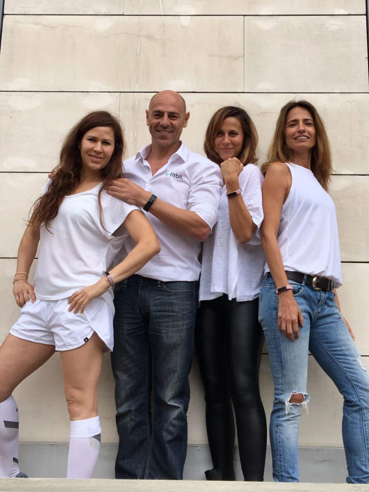 De izquierda a derecha, Caro Prato, Martín Giacchetta, María Giner y...