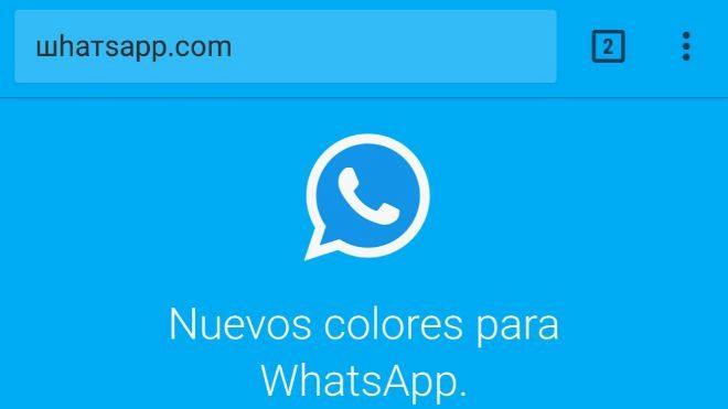 Ojo con el 'WhatsApp de colores' que instala publicidad en el móvil