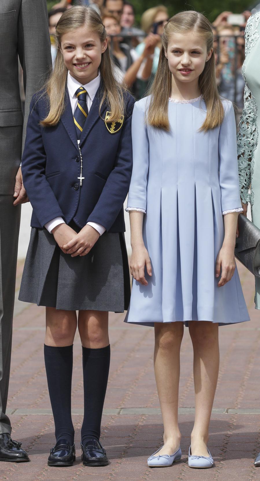 Vestido de comunion de la princesa leonor