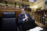 Mariano Rajoy, el pasado miércoles en el Congreso.
