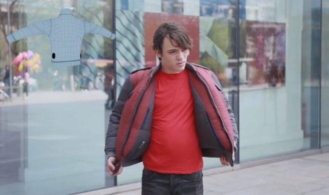 Así se infla la chaqueta 'SDJ-02' en 'Modo Secado'.