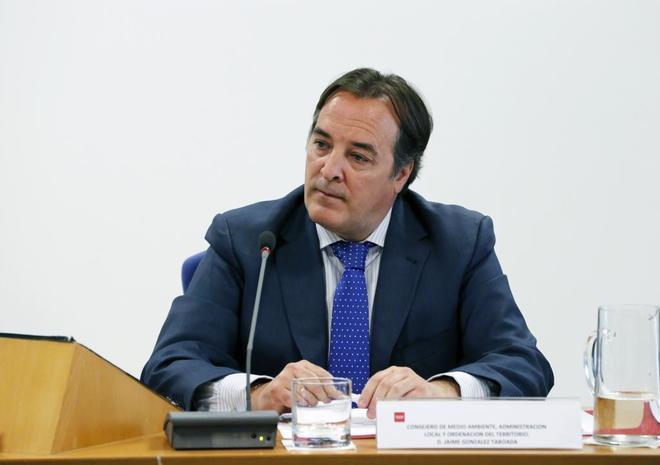 El consejero de Medio Ambiente, Jaime González Taboada. JAVI MARTÍNEZ