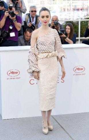 Lily Collins en Cannes