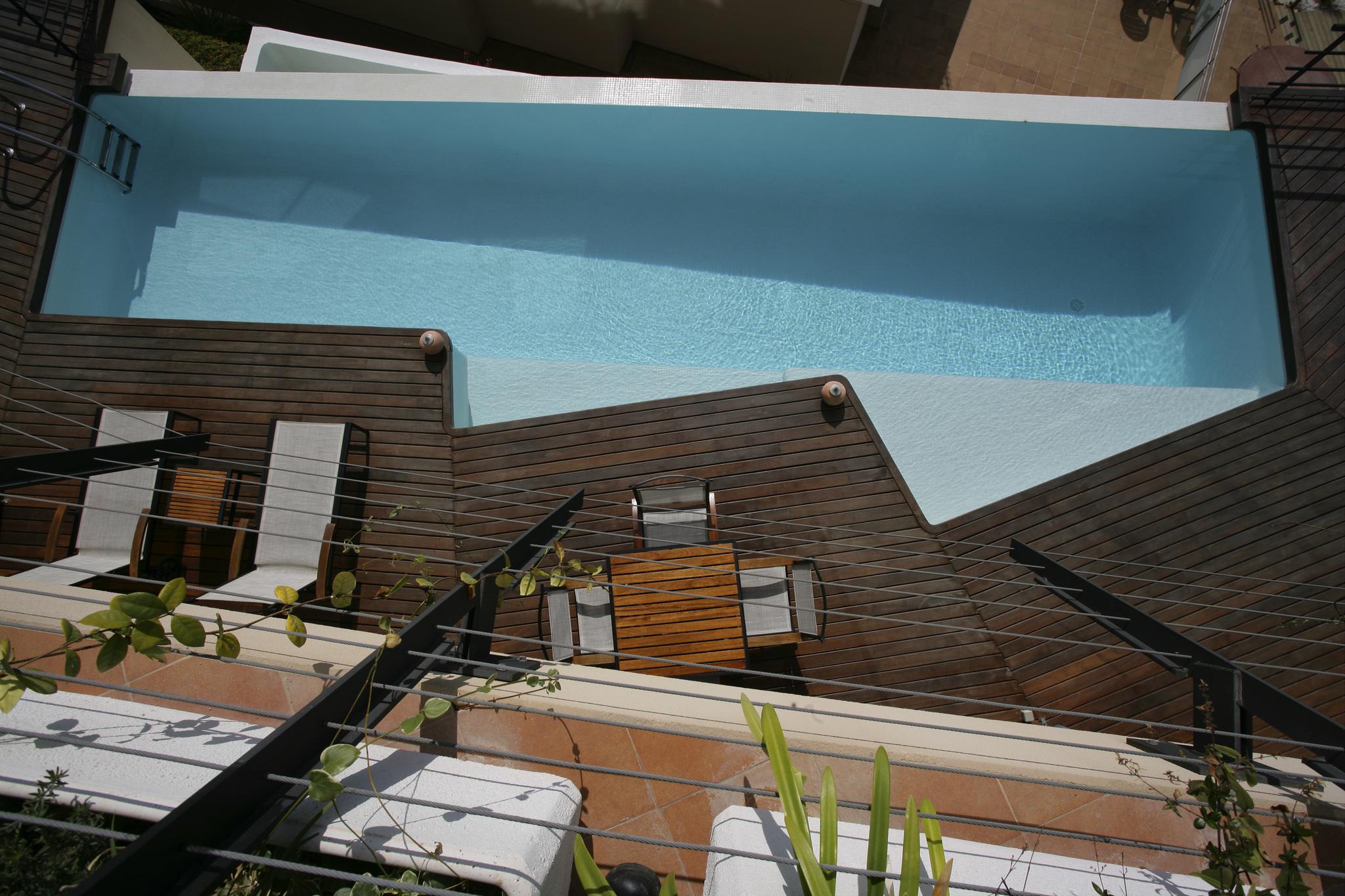 Una de las piscinas de Fluidra, que cuenta con el sistema de...