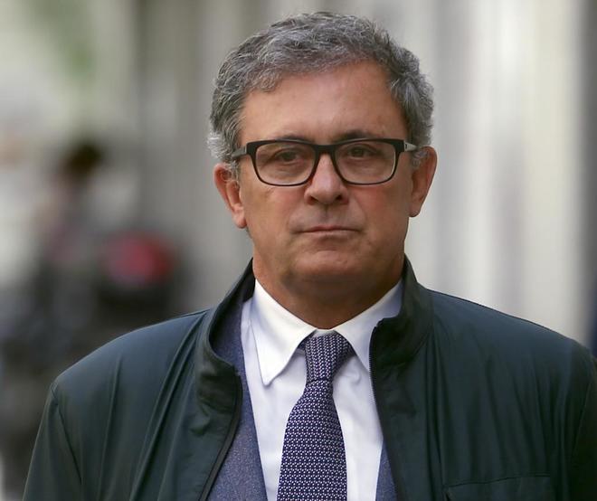Jordi Pujol Ferrusola, primogénito del ex presidente catalán, a su...