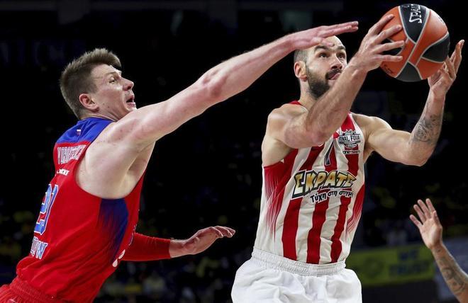 Spanoulis, la eterna maldición del CSKA