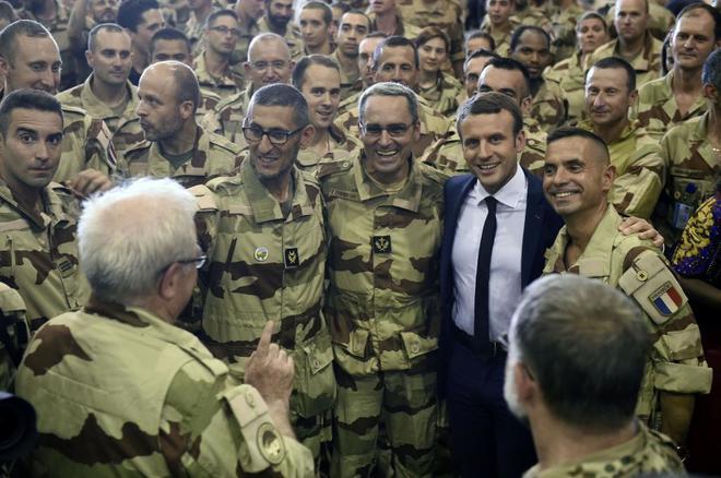 Macron reclama fondos contra el terrorismo