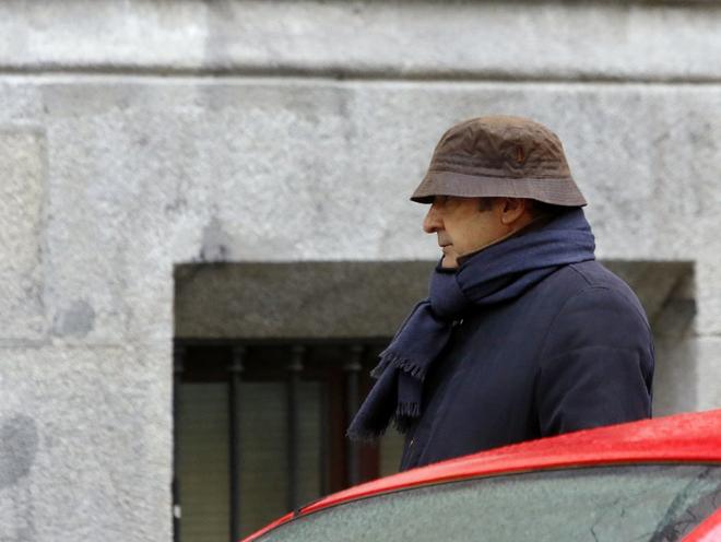 El ex gerente del PP madrileño Beltrán Gutiérrez, acude a declarar...
