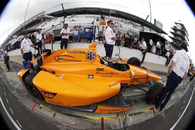 Fernando Alonso termina cuarto en el 'Fast Friday' de Indianápolis