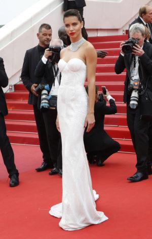 Adriana Lima, en la alfombra roja de 'Loveless'