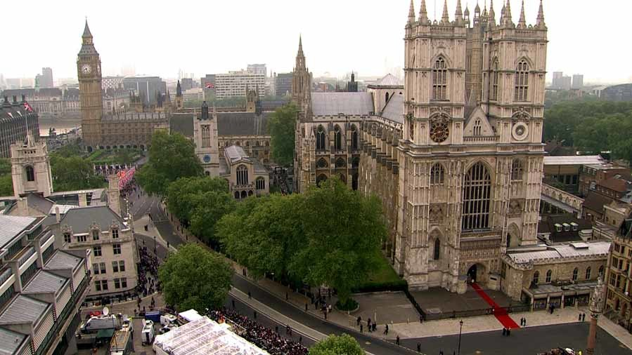 La abadía del Westminster, ubicada en pleno centro de Londres, fue el...