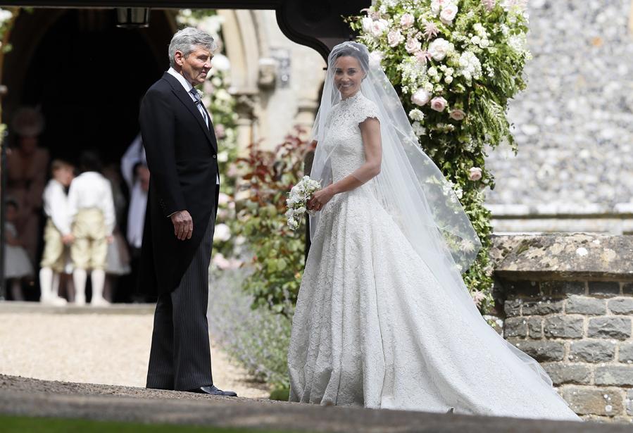 boda de pippa middleton: el vestido de novia de pippa middleton - la