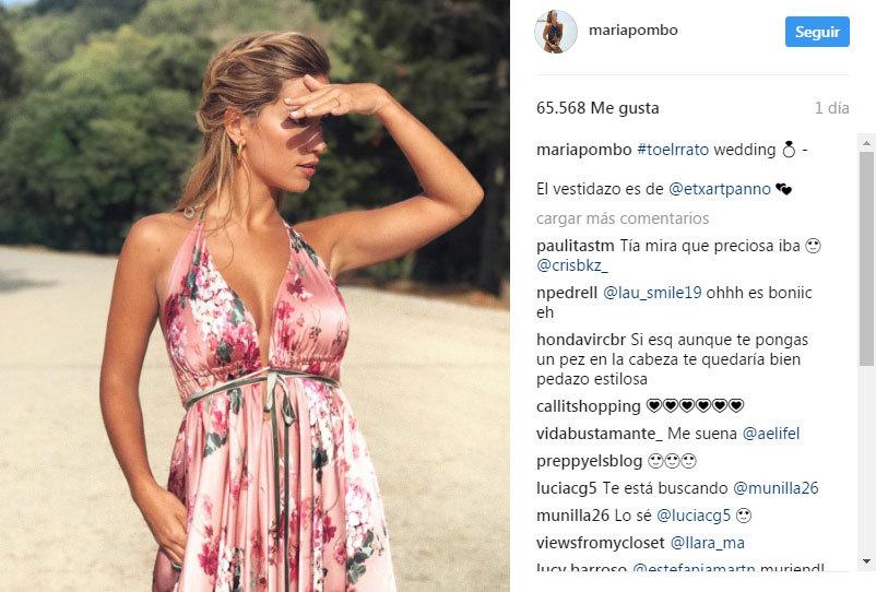 maria pombo, bloguera y ex novia del futbolista morata | loc | el mundo