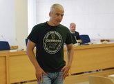 El etarra Javier García Gaztelu, 'Txapote', durante el juicio en la...