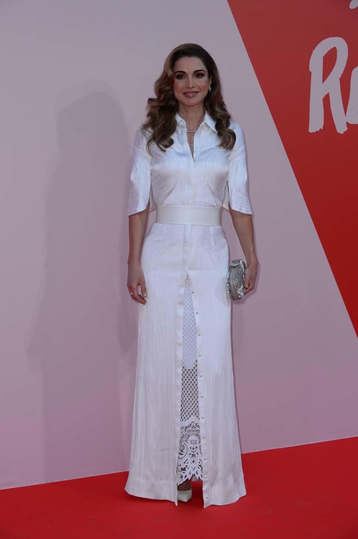 De For Cannes Fiesta Relief En La Jordania Rania Fashion 6Fqdp6