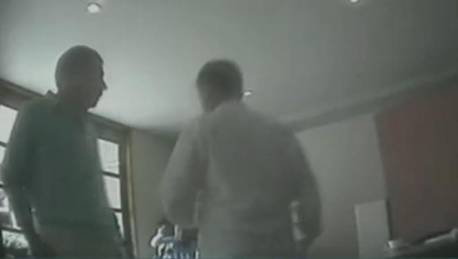 Fotograma del vídeo sobre el espionaje a Ignacio González en el año...