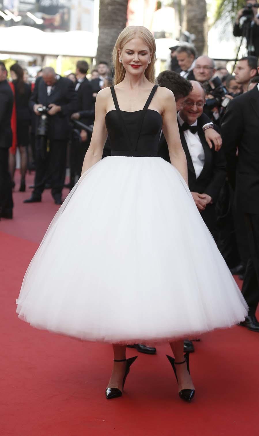 La actriz ha hecho una de sus mejores apariciones en una alfombra roja...